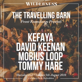 TRAVELLING BARN STAGE CARD - FRONT ROOM SONGS